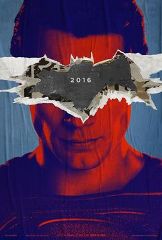 Official 'Batman v Superman' posters are pretty awesome _ #Poster #Affiche #GraphicDesign
