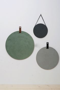Nice gift, how you can decorate notepads. These round cork and cork pinned walls … - Fotowand - ENG Room Wall Painting, Bedroom Decor, Wall Decor, Hobby Room, Living Styles, New Home Designs, Interior Accessories, Home Projects, Sweet Home