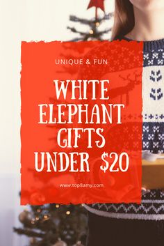 Unique White Elephant Gifts Under 20