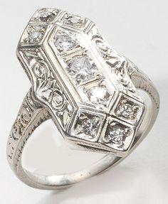 Diamond Ring Vintage Fine Jewelry $591