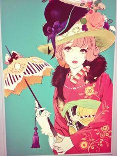マツオヒロミ - Google 搜尋 Manga Anime, Art Manga, Art Anime, Anime Kunst, Japan Illustration, Pretty Art, Cute Art, Art Mignon, Samurai