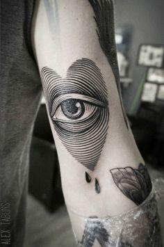 Artist: Sasha Tabuns BLACKOUT Tattoo Collective