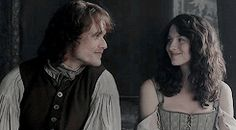 """""""I knew you belonged here the first time I laid eyes on you"""" -Jamie #Outlander """"Lallybroch"""""""