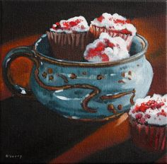 30 PAINTINGS IN 30 DAYS Six, painting by artist Suzanne Berry