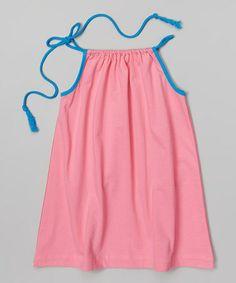 Look at this #zulilyfind! Pink & Fuchsia Swing Dress - Infant, Toddler & Girls #zulilyfinds
