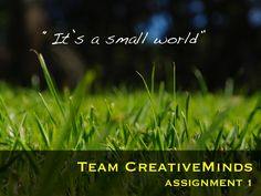 creative-minds-assignment-1-getting-to-know-you by Anni Rautio via Slideshare