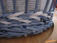Плетение из газет. Идеи. Мастер-класс на узор. Обсуждение на LiveInternet - Российский Сервис Онлайн-Дневников