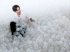 A 10,000 Square Foot Ball Pit Situated Within a National Museum Lets Visitors Experience the Beach Indoors