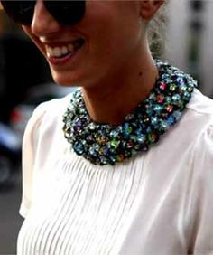Jeweled Collar - Best Detachable Collars For Fall