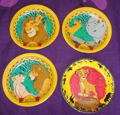Vintage Disney's 'The lion king' paper plates / 'El rey leon' platos de papel (Disney)   Flickr - Photo Sharing!