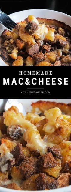 The best homemade macaroni and cheese recipe you will ever have. Made with lots of creamy sharp cheddar cheeses.