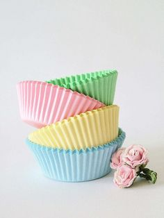 Spring Cupcakes by sweet berry me, via Flickr