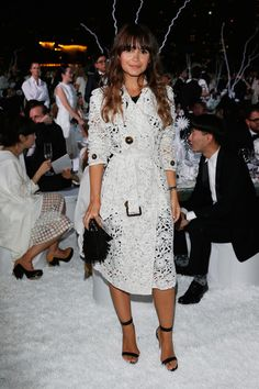 Miroslava Duma Photos - Vogue Fashion Dubai Experience 2015 - Gala Event Arrivals - Zimbio