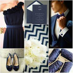Navy Blue Wedding Inspiration