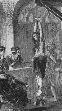 Las audiencias de la Inquisición siempre extrajeron una confesión.   La Iglesia Católica incluso formalizó y documentó los mejores métodos de tortura en su Inquisición Anual llamada el Malleus Malificarum (que traducido significa el martillo del mal).