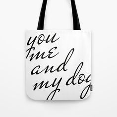 Tote Bag by Francesco Salerno #shop #shopping #accessories #design #gift #giftideas #art #popstyle #buyart #coolaccessories #moda #style #fashion #totebag #bags #pop #popart #dog #heart #black #love