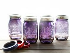 For its third and final limited edition series, the vintage-style jars are available in a fresh new color: PURPLE!