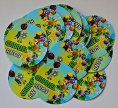 Atelier Doces Mimos: Festa personalizada Plants vs Zombies
