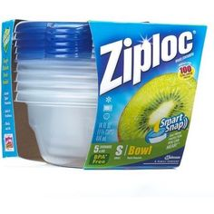 Ziploc Small Containers 5ct ONLY $1.43/Each At Target After Cartwheel Offer And Printable Coupon!