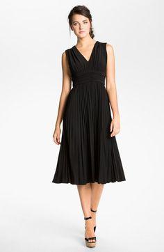 Formal black dress options- Ivy & Blu Ruched Jersey Dress (Regular & Petite) available at #Nordstrom