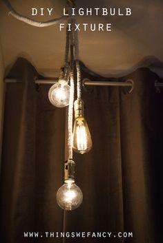 DIY Lightbulb Fixture