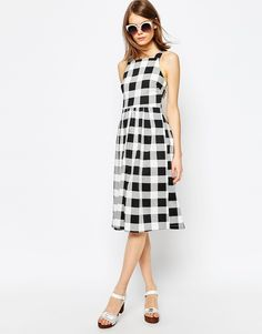 $77 ASOS Gingham Picnic Dress