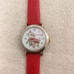 Vintage Strawberry Shortcake Watch for sale on Etsy.