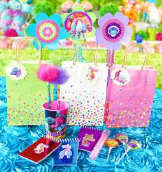 trolls party favor bags