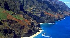 Na Pali coast, Kawaii. .....  One of the most beautiful places on earth