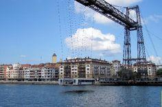 puente colgante de portugalete -Bilbao-Basque Country