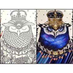 #hannakarlzon #coloringbook #dagdrömmar #prismacolor #coloring ✨