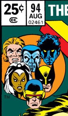 waitwhatpod:  The changing faces of the X-Men from #94 through #175.  Graeme