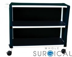 Techno-Aide - MUC-245 - Mri Utility Cart 2 Shelf