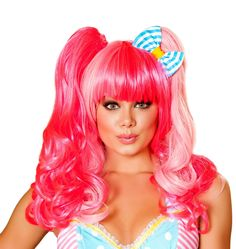 Pink Wig with