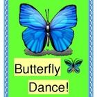 """""""BUTTERFLY DANCE!"""" - SCIENCE WITH A CALYPSO BEAT!  """"If you like a-dancing, we like a-dancing!  We've got some dancing to do!""""  Dance with the butterflies, and learn some interesting Science Facts about the life of a butterfly!  A list of discussion facts is included.  Make a Butterfly Wrist-Topper Craft and take those butterflies 'on the move' with an island beat!  Learn a 5-note song, and use this as a 'wiggle-reducer' or in your Spring Parent Program.  Add some shakers and rock!  (8 pages)…"""