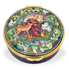 Meticulously handmade Halcyon Days holiday & annual enamel boxes from Scully & Scully are a divine luxury gift for anyone on your list. Francis Of Assisi, St Francis, Luxury Home Decor, Luxury Homes, Holiday Gifts, Holiday Decor, Christmas Gifts, Scully And Scully, Halcyon Days