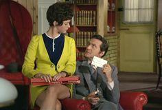 Tara King (Linda Thorson) & John Steed (Patrick Macnee) in the Avengers episode in the Avengers episode 'Game'