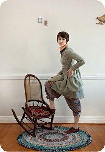 Betty Coat by Rebe