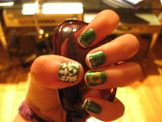 Legend of Zelda nails via Lol awesome! Video Game Crafts, Work Nails, Nerd Crafts, Geek Games, Crazy Nails, Some Times, Diy Projects To Try, Legend Of Zelda, How To Do Nails