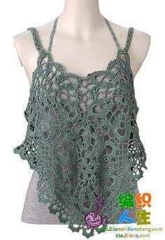 Croche e trico da Fri, Fri´s crochet and tricot top