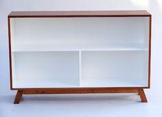 Modular Retro Mid Century Bookshelf from Vamp Low Bookshelves, Bookshelf Storage, Mid Century Bookshelf, Vintage Furniture, Furniture Design, Restaurant, Cool Baby Stuff, Home Organization, Diys