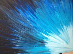 Blue burst by Jfo