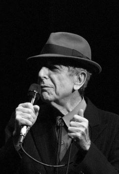 Leonard Cohen by MichaelN, via Flickr