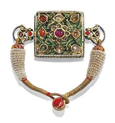 7d935314310af Jewelled and Enamelled Bazuband century