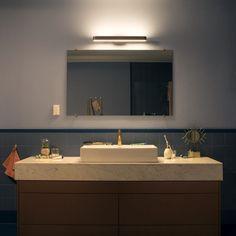 Bathroom Mirror Lights, Mirror With Led Lights, Led Mirror, Led Ceiling Lights, Ceiling Lamp, Bathroom Lighting, Led Flexible, Tiny Bath, Led Spots