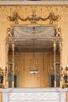 Harewood House in Yorkshire was decorated by Chippendale