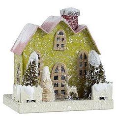 Glitter Christmas house