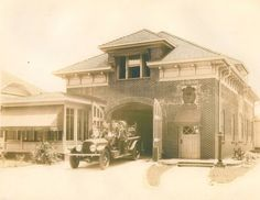 Atlanta Fire Station No. 19 in 1925 - Photo Courtesy of Fire Station 19