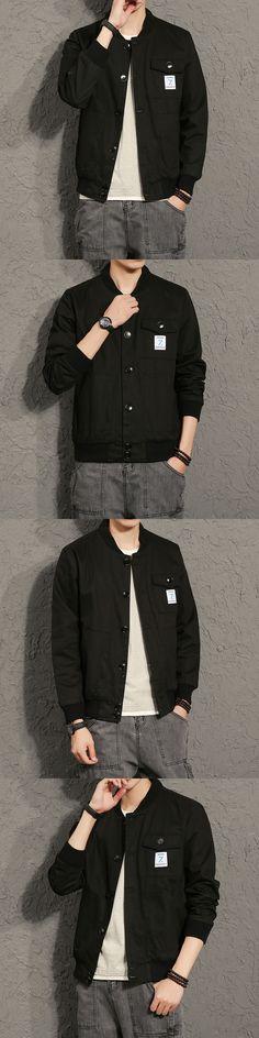 Cool College Baseball Jacket Men 2017 Fashion Design Black Mens Slim Fit Varsity Jacket Brand Veste Homme plus size 5XL