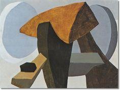 Arrangement In Form II  Arthur Dove, 1944  oil on canvas  Corriente Artística: Modernismo